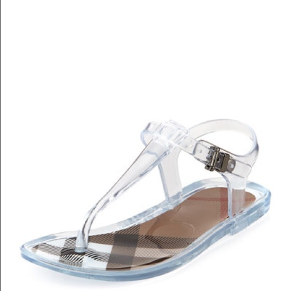 8a92362b4adcbf Burberry Shoes - Burberry jelly sandals. Preowned.